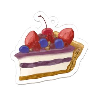 ブルーベリーチースケーキ