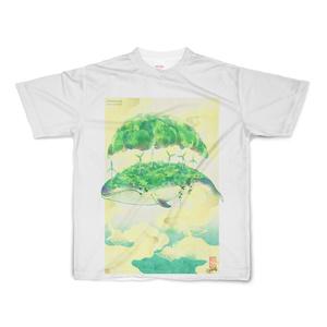 くまたにたかし「碧ノ鯨」Tシャツ