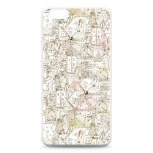 "Original pattern ""あの子の街"" for iPhone6 Plus"
