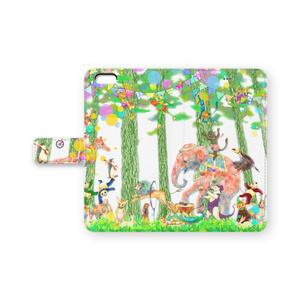 くまたにたかし『森のサーカス』iPhoneケース iPhone6Plus