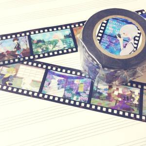 フィルム風マスキングテープ