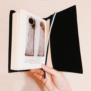 写本装飾風ブックカバー