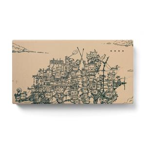 【モバイルバッテリー セピア/モノクロ】街旅