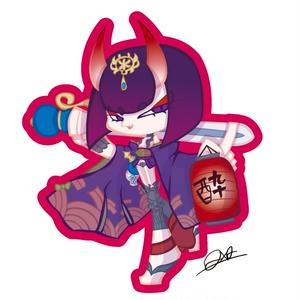 【第四弾】Fateステッカー 酒呑童子