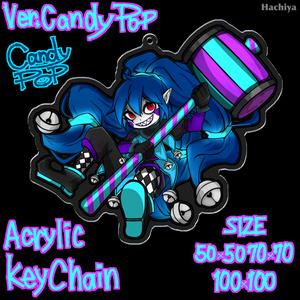 Candy pop : Acrylic Key Chain