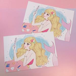 マーメイドポストカード