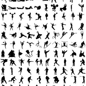 ヒューマンシルエット素材集PLUS 514種類収録
