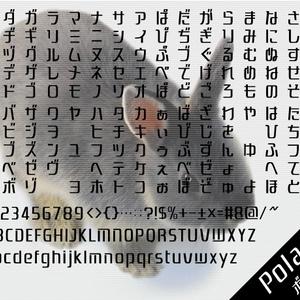 ポラリス フォント