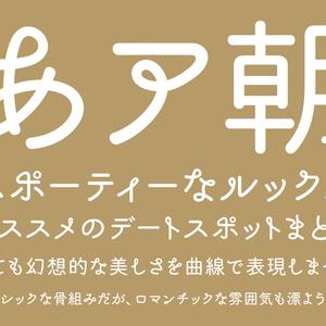 あさご本丸ゴシック -  7フォントSET