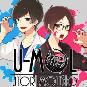 U-Mol缶バッジ(ツーショットver.)