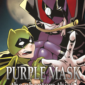 ポストカード PUPURLE MASK the phantom thief