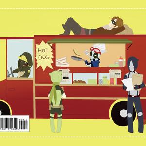 ポストカード 「HotDogs Holiday」
