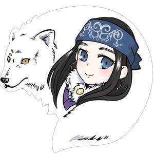 【金カム】アシリパ&レタラ アクリルキーホルダー