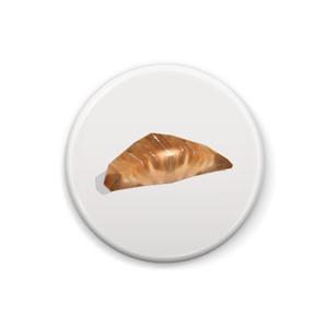 缶バッジ(クロワッサン)