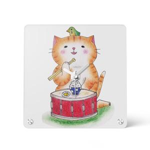 ドラム猫の時計