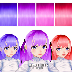 【VRoid】髪のテクスチャ || VRoid Hair Texture 01