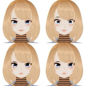 3D Humanoid for VRChat [Han Eri] VRC Avatar Model