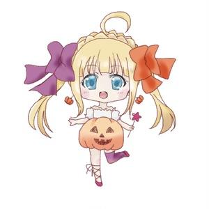 ハロウィン大森杏子ちゃんきらきら缶バッジ