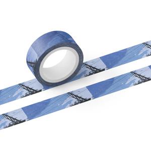 マスキングテープ 高架線
