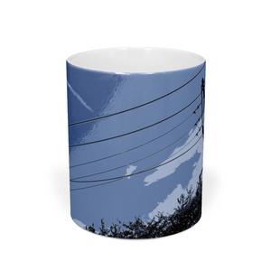 マグカップ 高架線