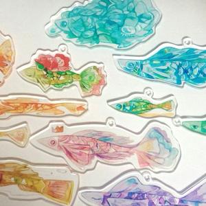 アクリルキーホルダー[魚]