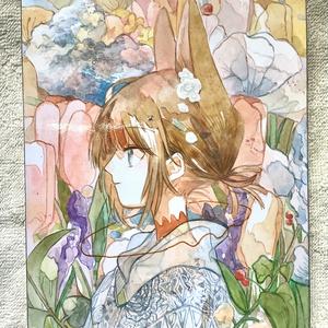 パネル原画【春愁】