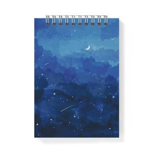 メモ帳 青い夜