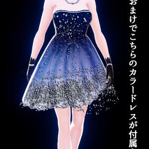 vroid専用クリスマスツリーイメージドレス