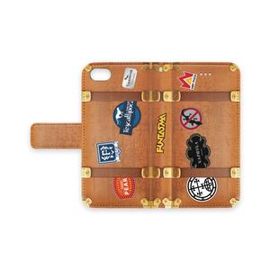 トランクステッカーiPhoneケース