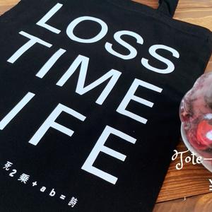 LosstimeLife オリジナルトートバッグ Ver.意志と死と詩