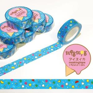 【アイスイカ】オリジナルマスキングテープ