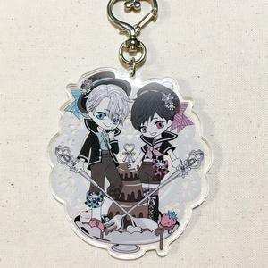 【YOI】Be My Valentine!アクリルキーホルダー(ヴィク勇)