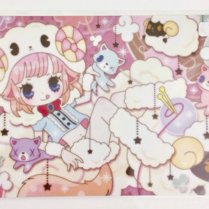 【創作】オリジナルイラストポストカード