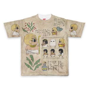 ミニ千里ちゃん劇場エジプト編 壁画Tシャツ Lサイズ