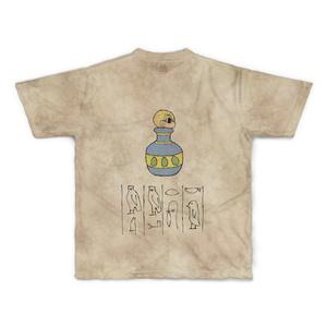 ミニ千里ちゃん劇場エジプト編 壁画Tシャツ Mサイズ