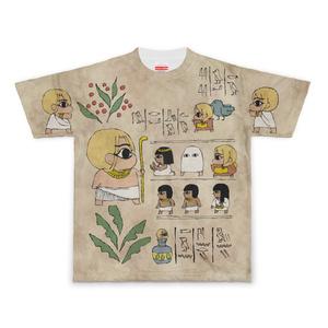 ミニ千里ちゃん劇場エジプト編 壁画Tシャツ Sサイズ