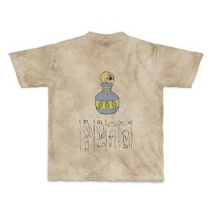 ミニ千里ちゃん劇場エジプト編 壁画Tシャツ XLサイズ