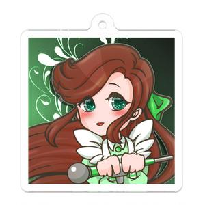 緑咲香澄・SDアクリルキーホルダー
