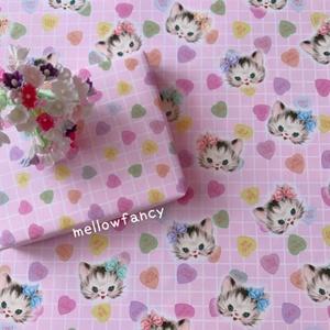 【I LOVE MY CAT 】オリジナルラッピングペーパー