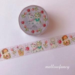 Fleurs マスキングテープ