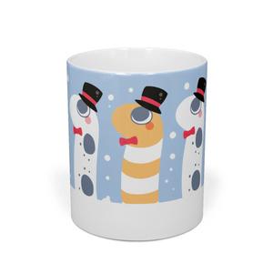 【マグカップ】チンアナゴさんとニシキアナゴさん