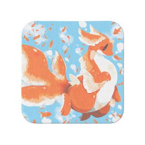 【タオル】金魚ドラゴン