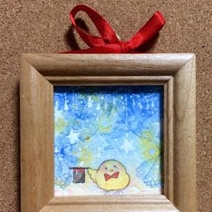 ミニ原画「君の窓に飛んでいくよ」