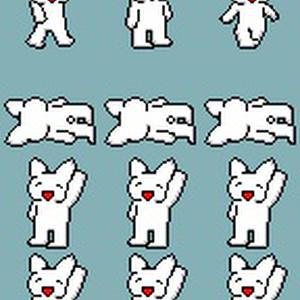 2003用四大AAキャラクター素材