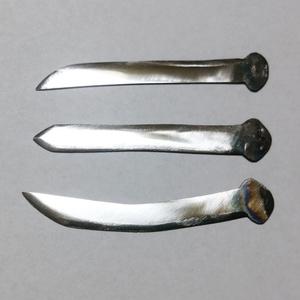 スーパーコンクリート釘製 短刀・短剣 Y型
