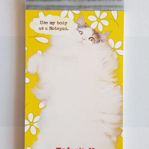 【メモ帳】はがね先生のもふもふお腹メモ帳