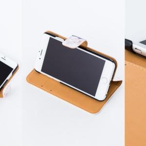 【手帳型iPhoneケース】IRONBOYオリジナル手帳型スマホケース
