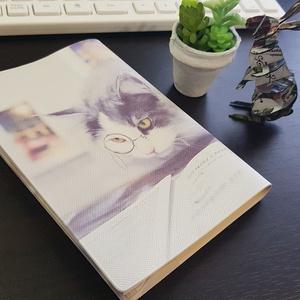 【ブックカバー文庫本サイズ】はがね先生ブックカバー