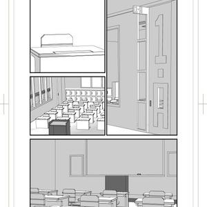 ヒロアカ1-A教室セット
