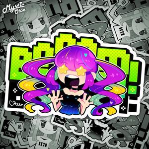 NOLgirlsステッカー(BOOOM!)